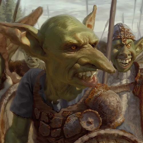 Orcs and Goblins art